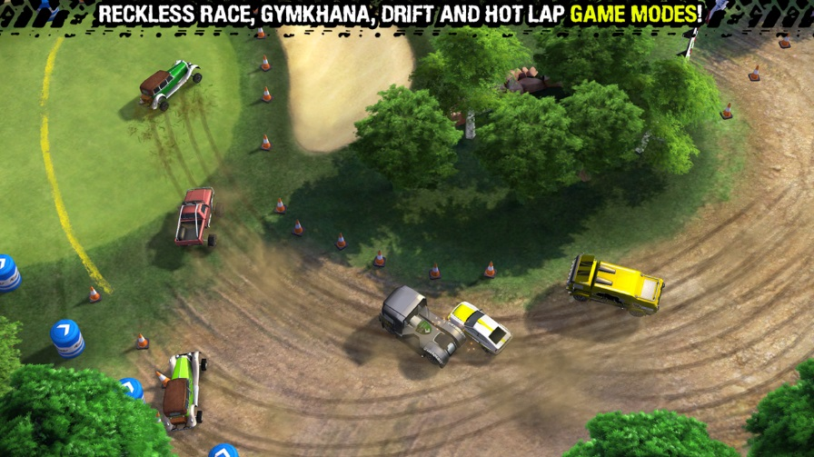 Reckless Racing 3 на Андроид