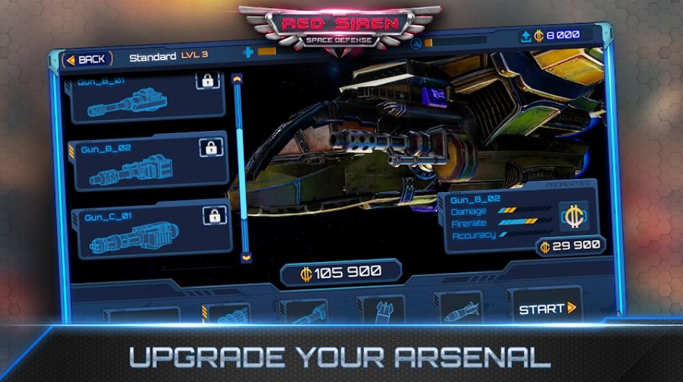 Red Siren: Space Defense на ПК