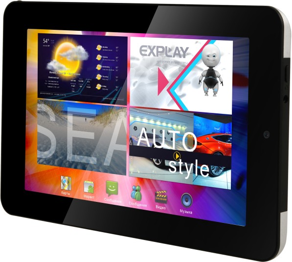 Explay Surfer 7.02 - обзор планшета + видеообзор