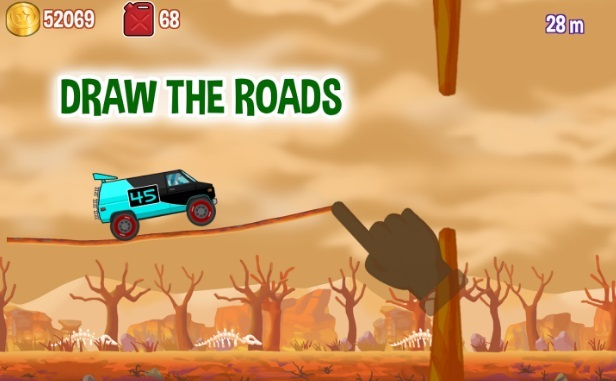 Road Draw - Hill Climb Race на Андроид