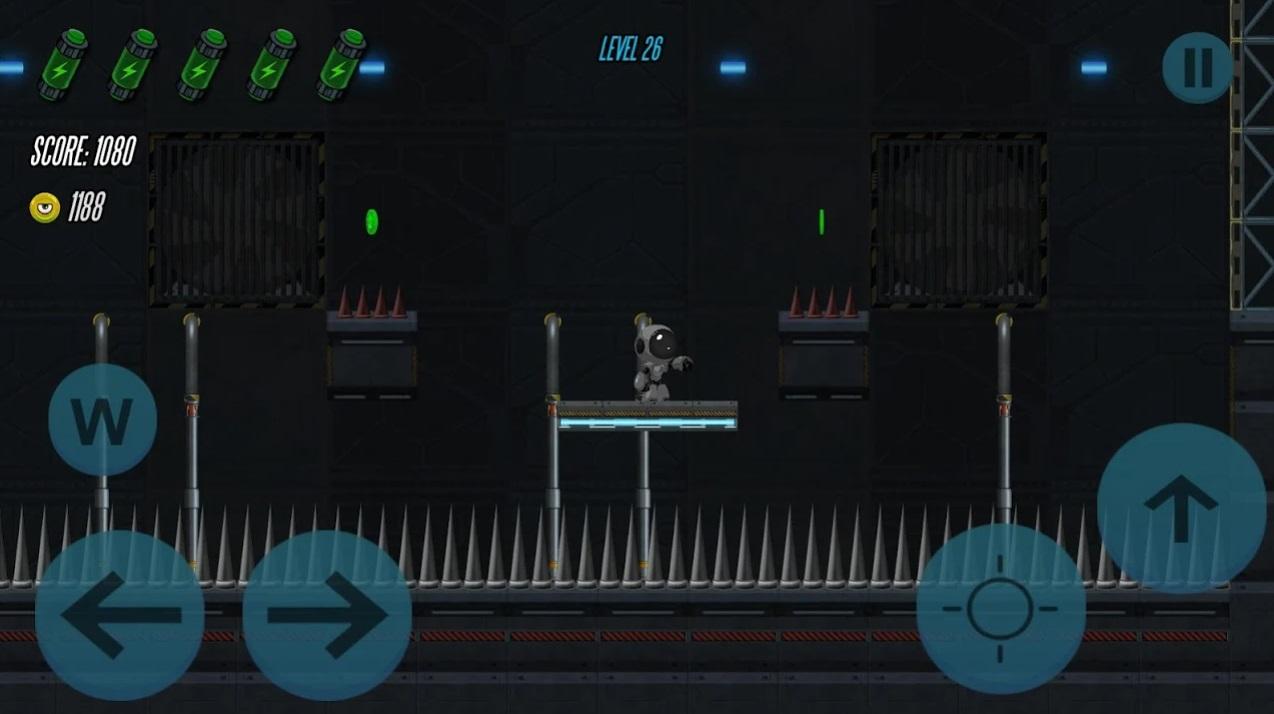Robots Adventure 2D на Андроид