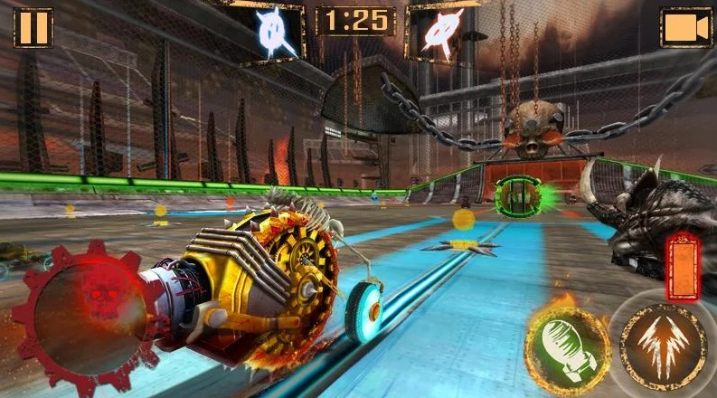 Rocket Car Ball на ПК