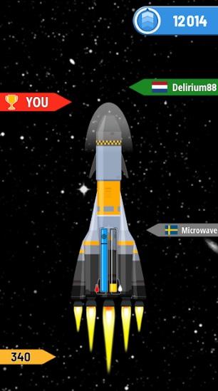 Rocket Sky! на Андроид