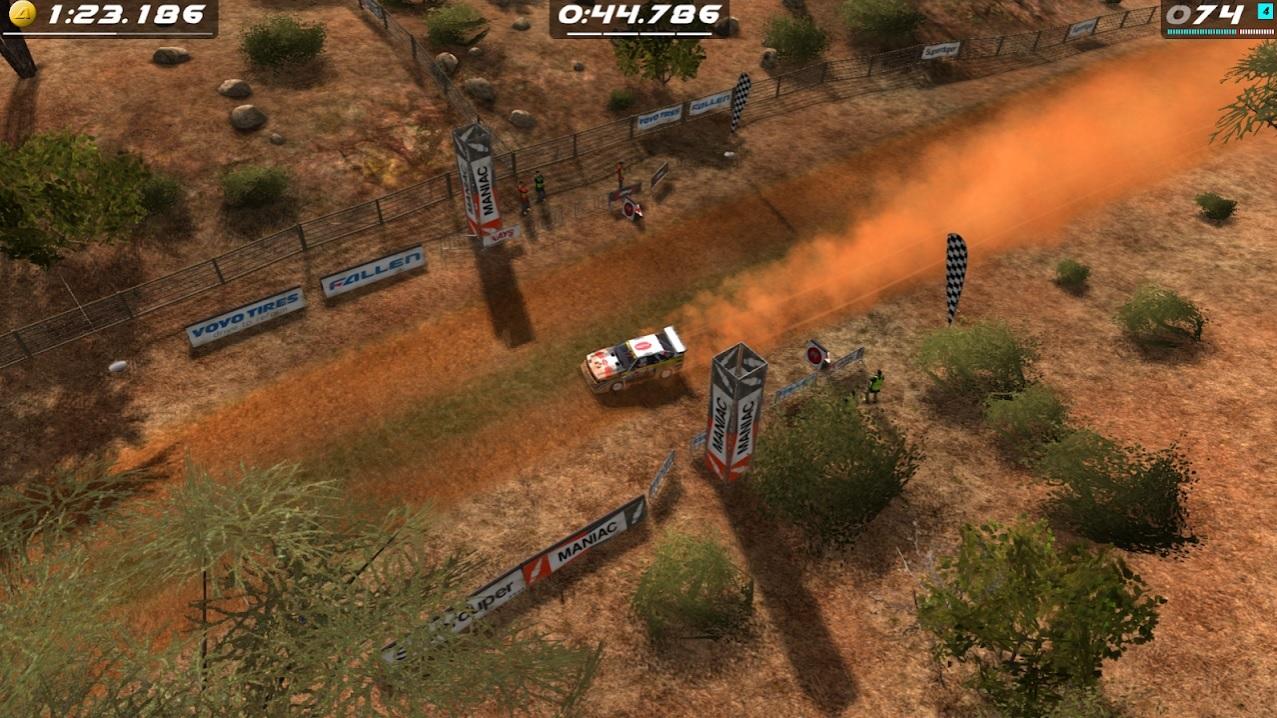 Rush Rally Origins на Андроид