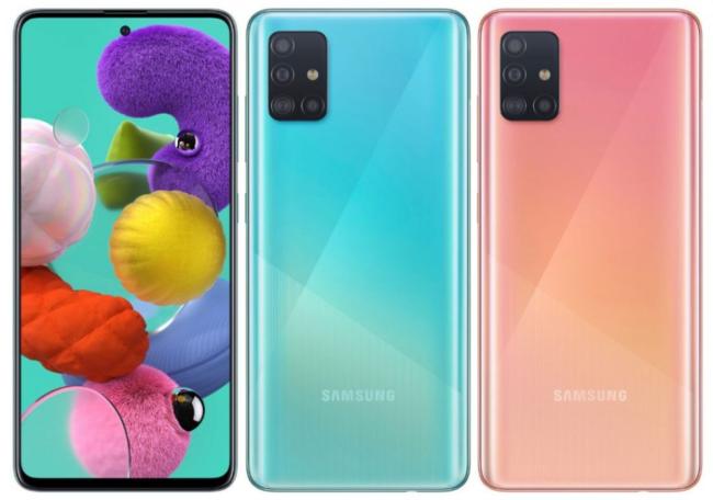 samsung galaxy a51 экран