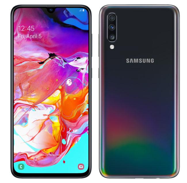 Samsung Galaxy A70 экран