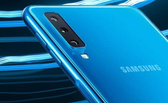 Samsung Galaxy A70 камера