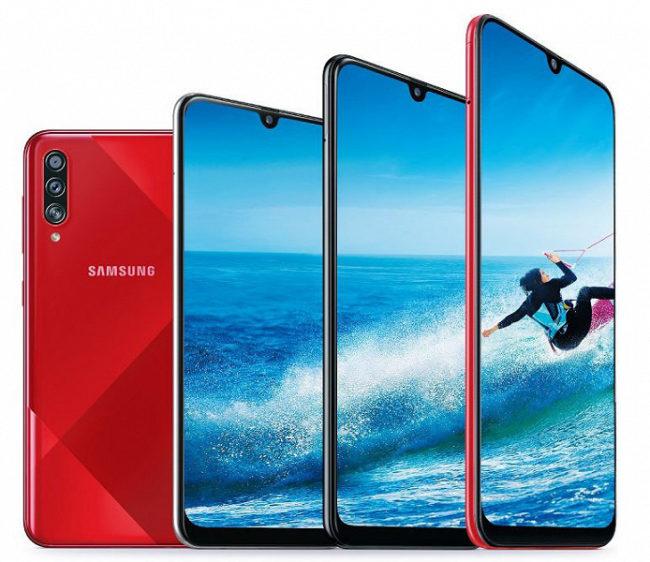 Samsung Galaxy A70s экран
