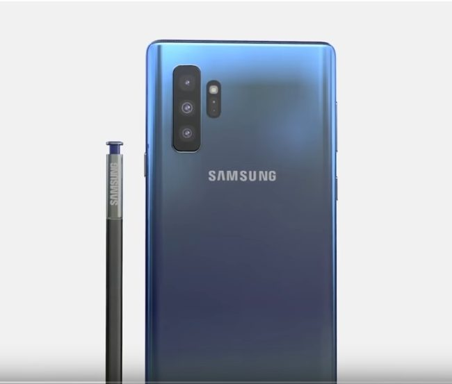 телефон samsung galaxy note 10