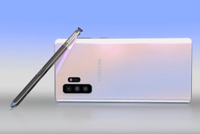 samsung galaxy note 10 стилус