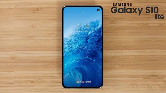 Samsung Galaxy S10 Lite внешний вид
