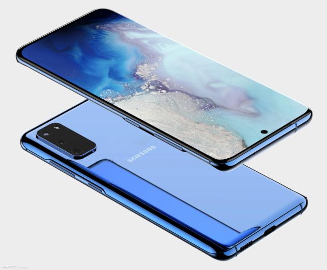 Samsung Galaxy S11e  внешний вид