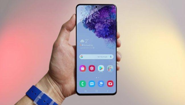 Samsung Galaxy S30 (S21) экран