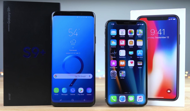 Samsung троллит Apple за недостатки iPhone X