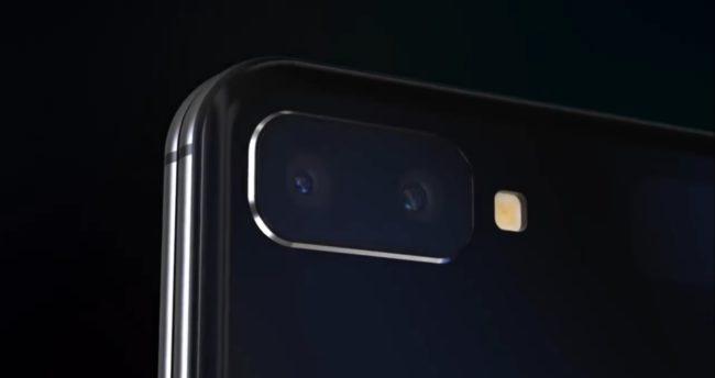 samsung galaxy z flip камера