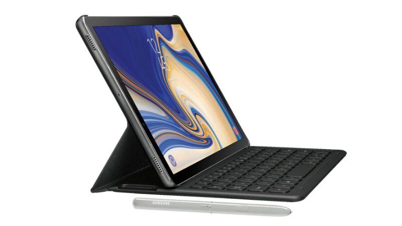 В сеть просочились рендеры планшета Galaxy Tab S4 с аксессуарами