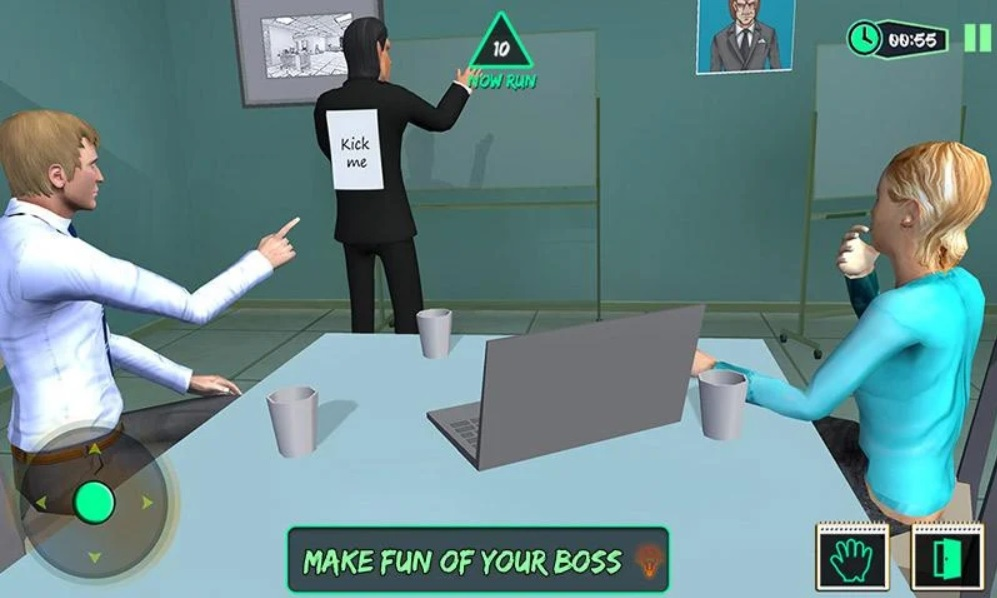 Scary Boss 3D на Андроид