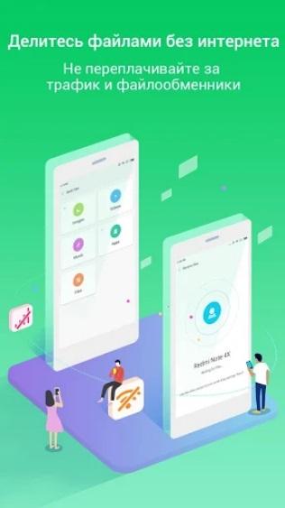 ShareMe на Андроид