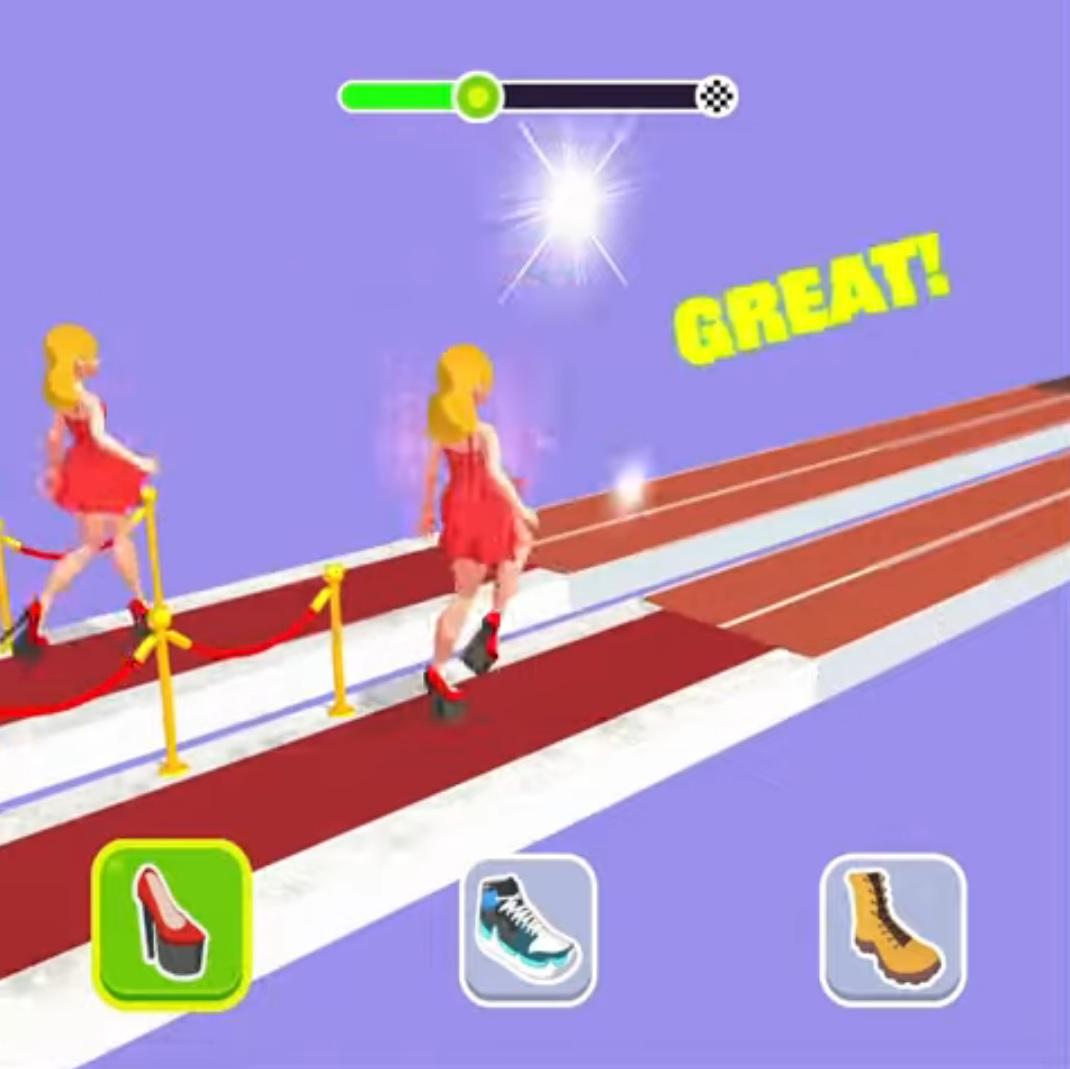 Shoe Race на Андроид