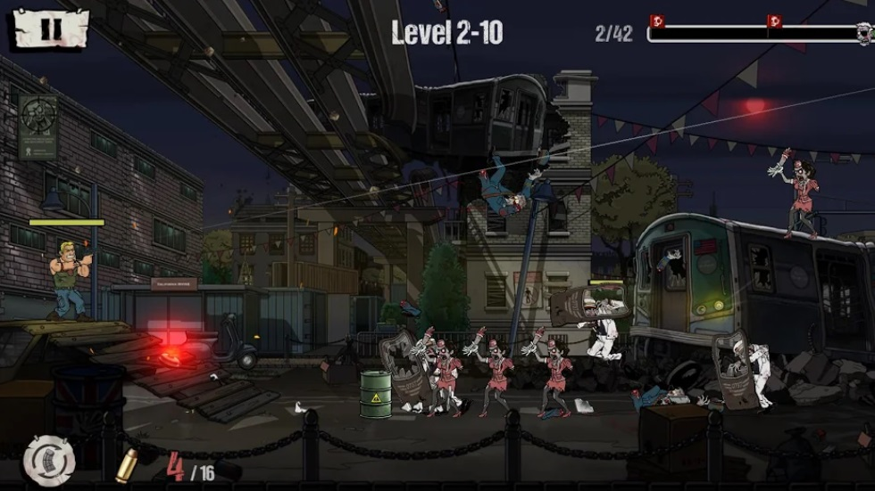 Shooting Zombie на Андроид