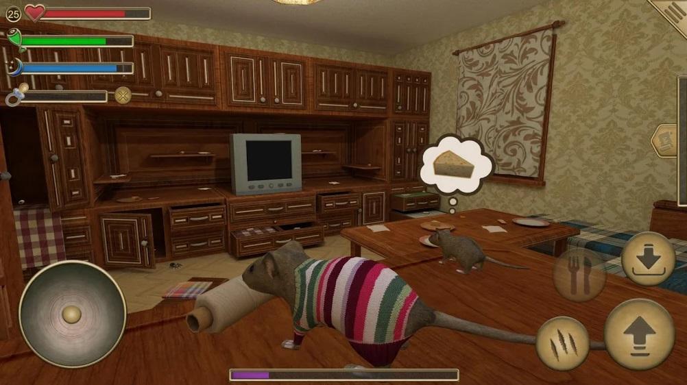 Симулятор Мыши на Андроид