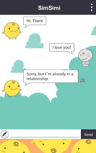 SimSimi на Андроид