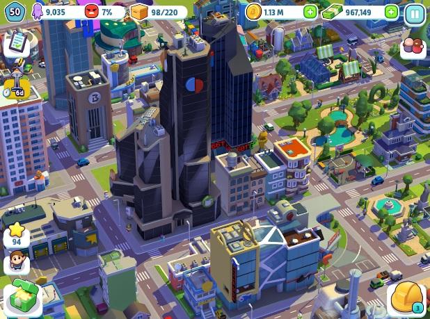 Ситимания: Строим Город на Андроид