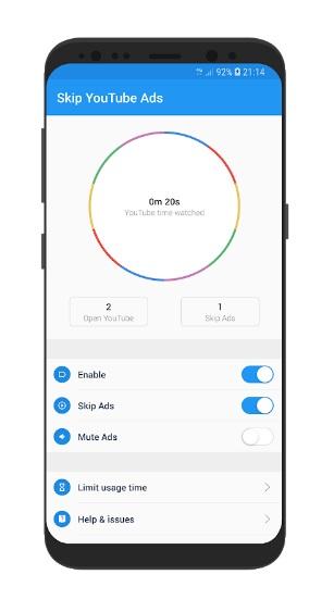 Skip Ads на Андроид