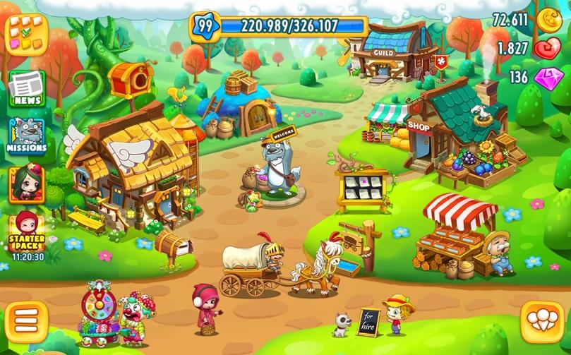Sky Garden: Райская ферма на Андроид