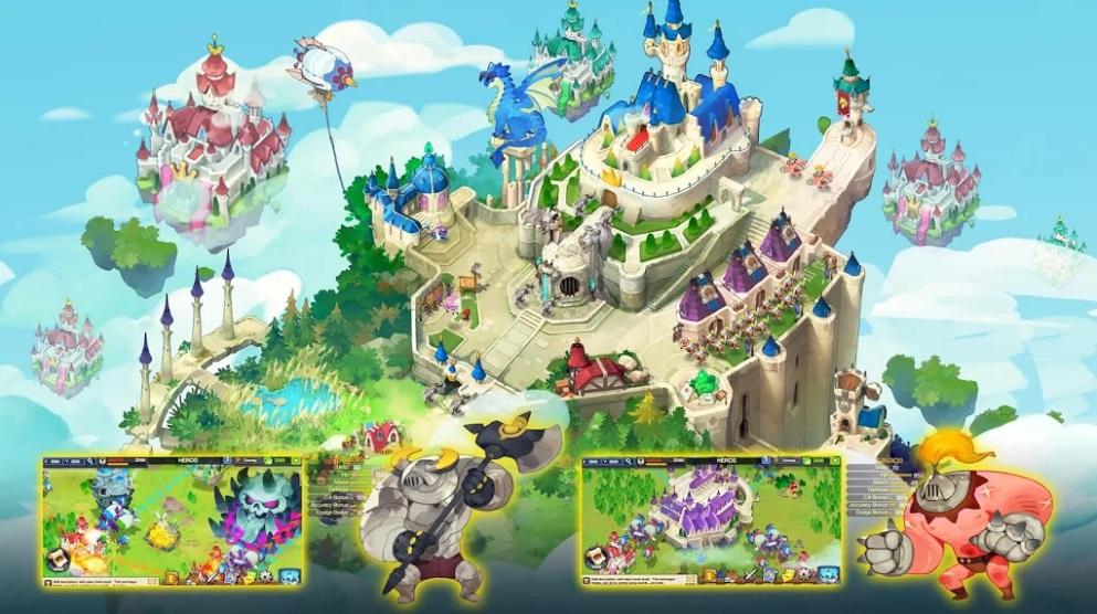 Sky Kingdoms на Андроид