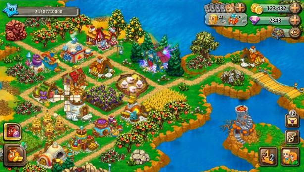 Славяне: Ферма на Андроид
