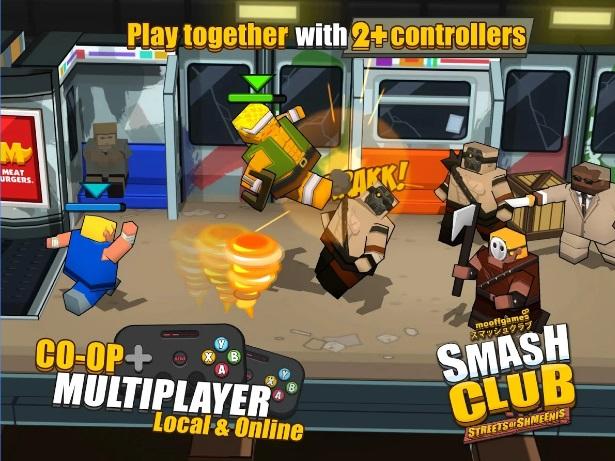 Smash Club: Streets of Shmeenis на Андроид