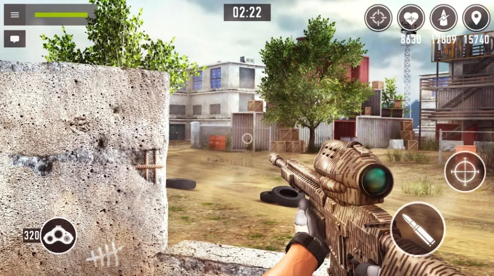 Снайпер Арена: 3Д онлайн шутер на Андроид