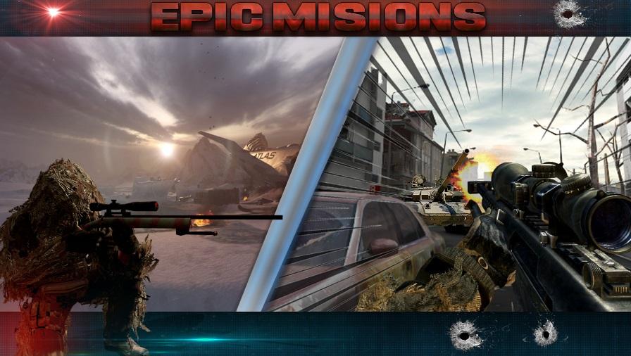 Sniper Fury на ПК