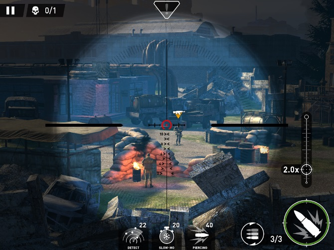 Sniper: Ghost Warrior на Андроид