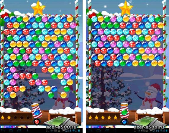 """Игра """"Bubble Shooter Christmas HD"""" для планшетов на Android"""