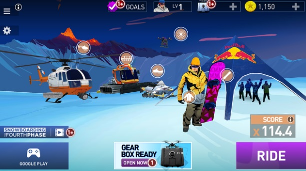 Snowboarding: The Fourth Phase на ПК