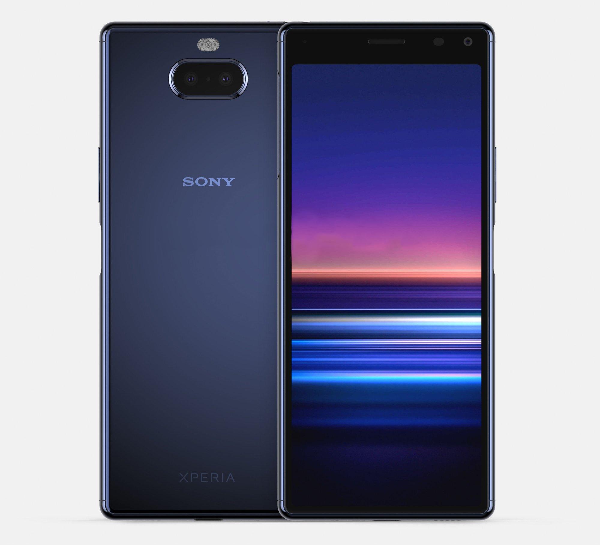 Sony Xperia 20 дизайн