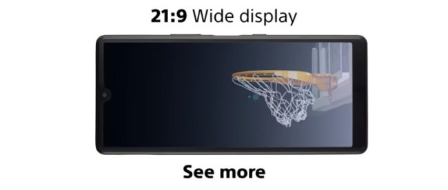 sony xperia l4 экран