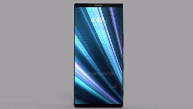 Sony Xperia XZ4 экран