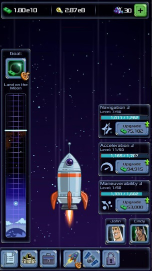 Idle Tycoon: Space Company на Андроид