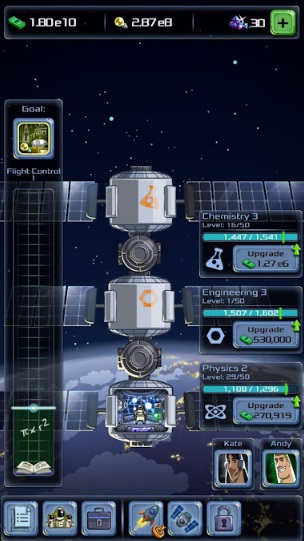 Idle Tycoon: Space Company на ПК