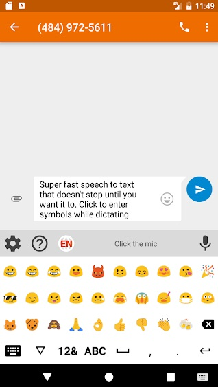 Speechnotes - Речь-в-Текст на Андроид