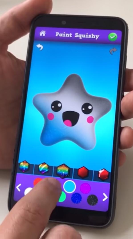 Squishy Magic: 3D Art Coloring на Андроид