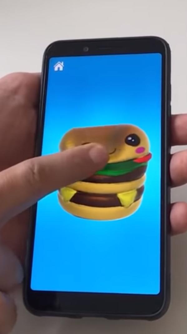 Squishy Magic: 3D Art Colorings на Андроид