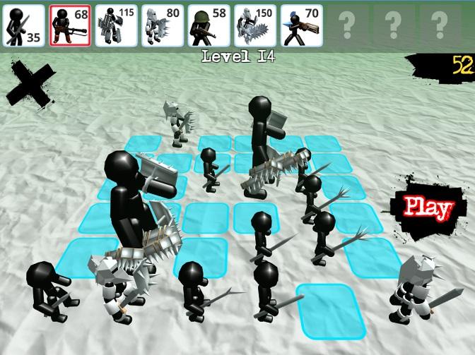 Stickman Simulator: Zombie Battle на Андроид
