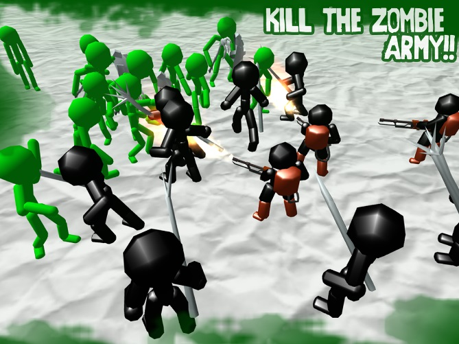 Stickman Simulator: Zombie Battle на ПК