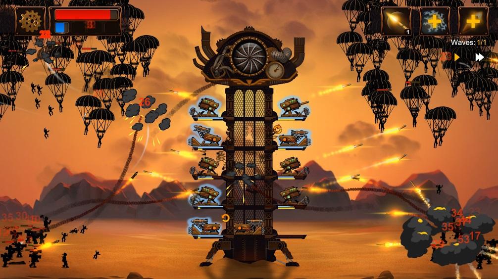 Steampunk Tower 2 на Андроид