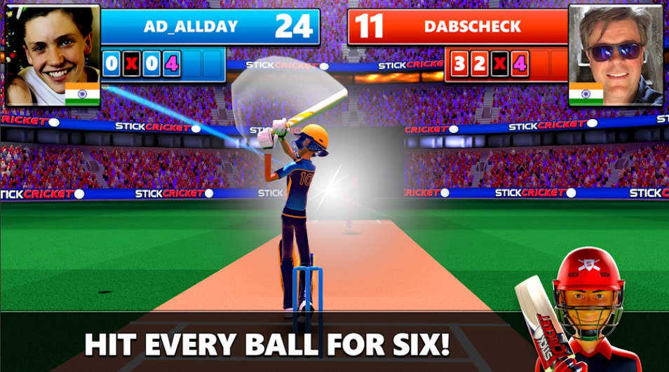Stick Cricket Live на Андроид