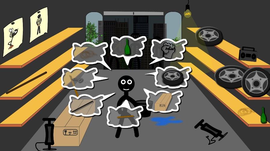 Стик драка: Побег на Андроид